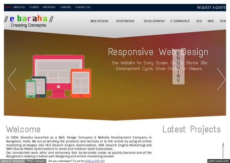 Ebaraha Pdf Files Web Design Company Profile Pdf