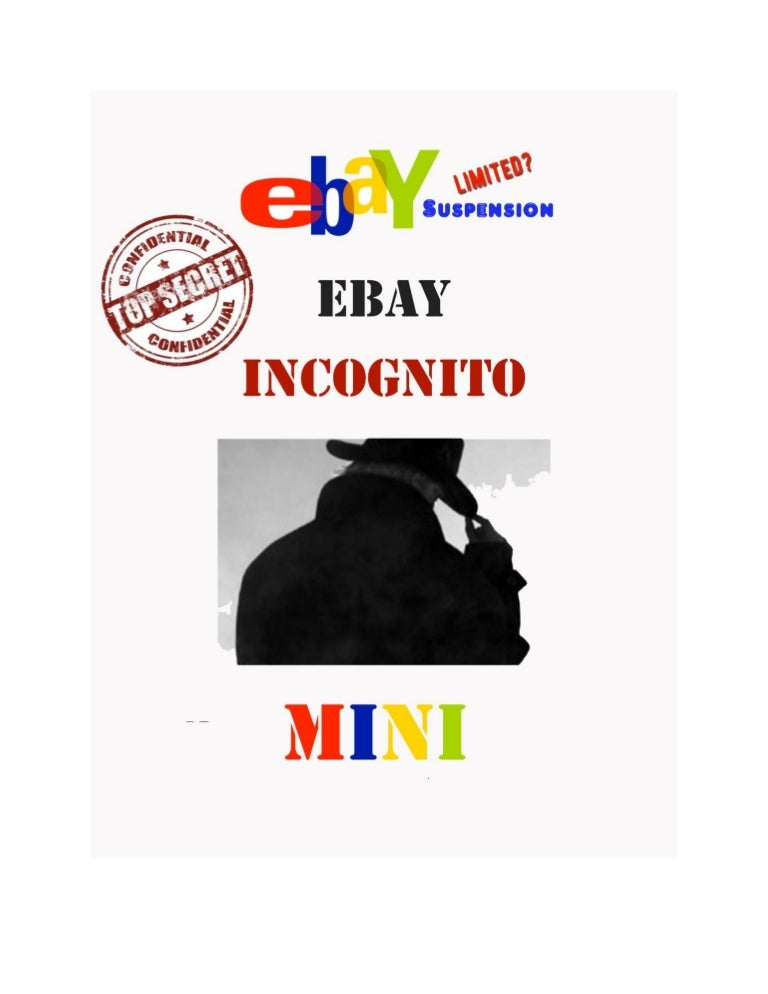 Ebay paypal incognito stealth ebook pdf fandeluxe Images