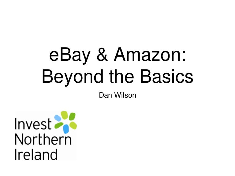 Ebay Amazon Beyond The Basics