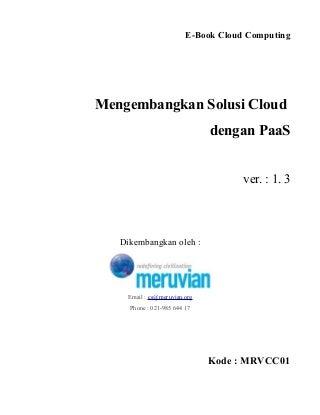 Mengembangkan Solusi Cloud dengan PaaS
