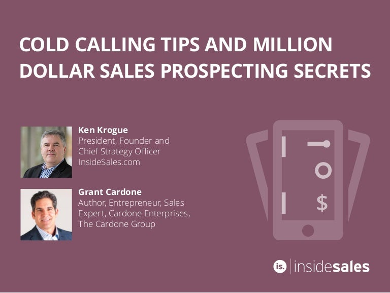 Ebook cold calling tips and million dollar sales prospecting secrets fandeluxe Choice Image