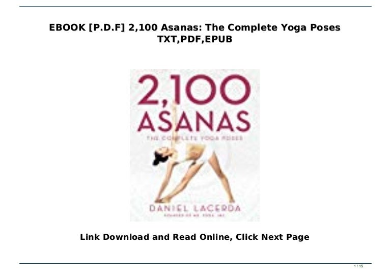 Ebook P D F 2 100 Asanas The Complete Yoga Poses Txt Pdf Epub