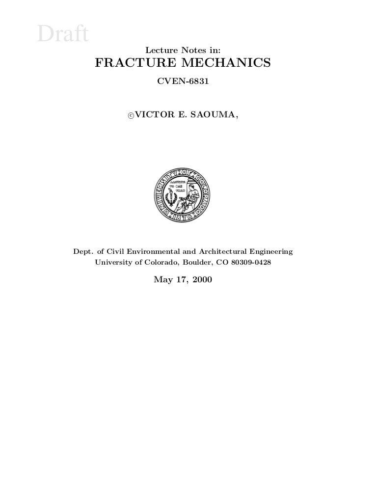 Engineering fracture mechanics fandeluxe Gallery