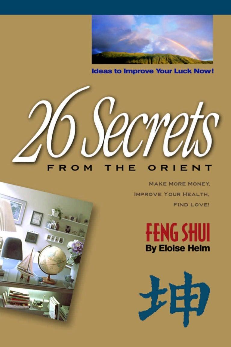 Ebook self help pdf 26 secrets of feng shui ebook self help pdf 26 secrets of feng shui fandeluxe Images