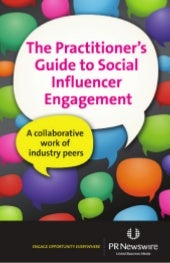 Practitioners Guide to Social Influencer Engagement