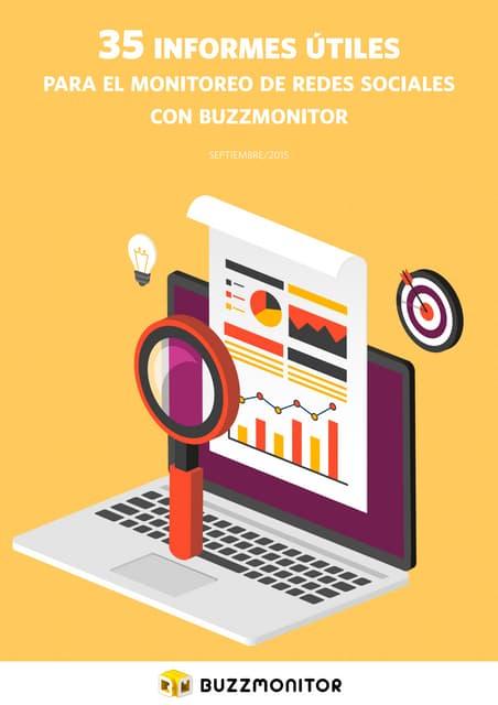 35 informes útiles para el monitoreo de redes sociales con Buzzmonitor