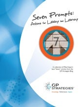 eBook | Seven Prompts: Actions for Leading and Learning