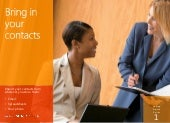 Dynamics CRM 2013: Bring in your contacts