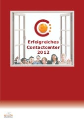 Ebook Erfolgreiches Contactcenter 2012
