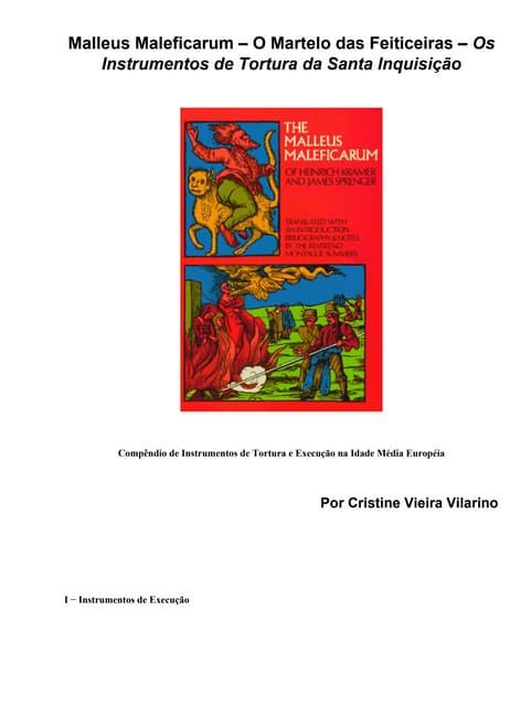 Malleus Maleficarum Portugues Pdf
