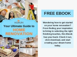 [EBOOK] Your Ultimate Guide to Home Renovation