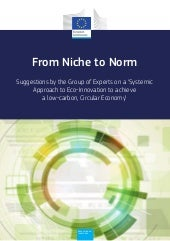 European Commission Report - From Niche to Norm