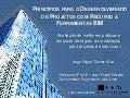 Princípios para o Desenvolvimento de Projetos com Recurso a Ferramentas BIM. Avaliação de melhores práticas e proposta de regras de modelação para projetos de estruturas.