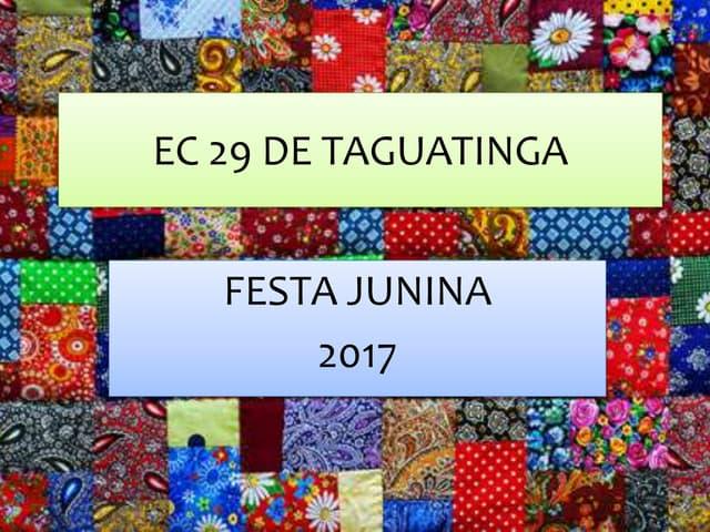 Ec 29 de taguatinga