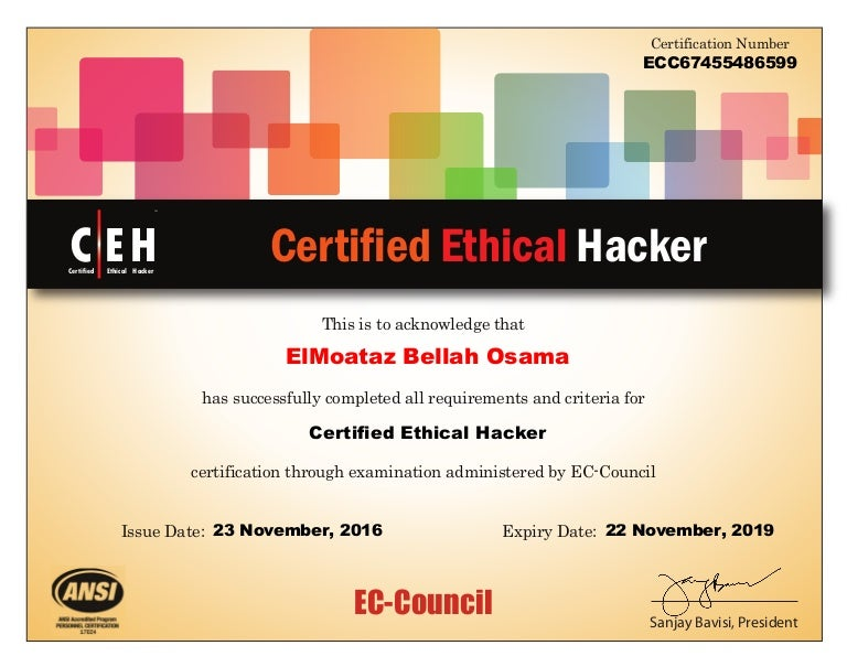 ceh ethical hacker certified certificate council ec