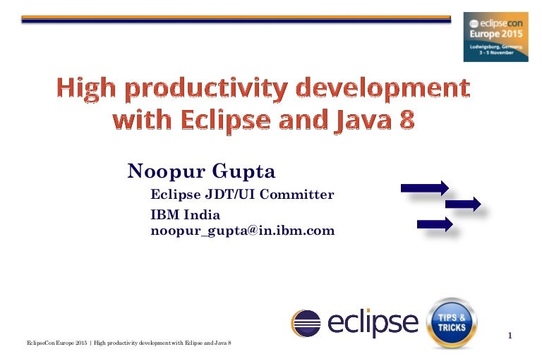 Eclipse Latest Version For Java 8