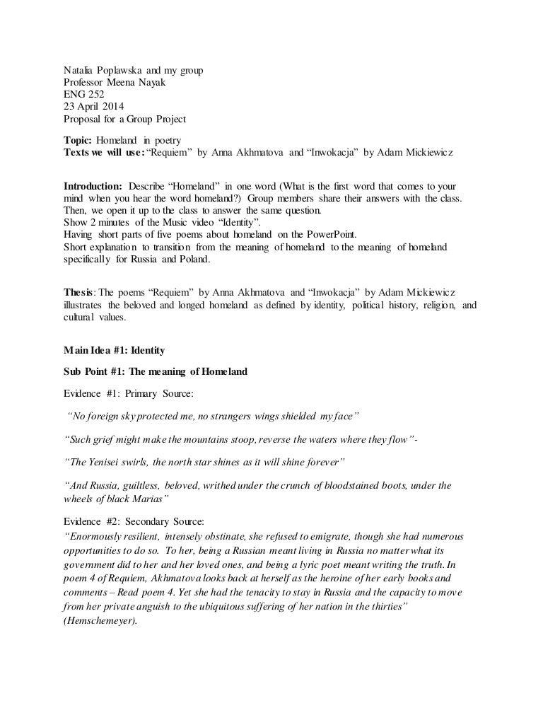 akhmatova requiem summary