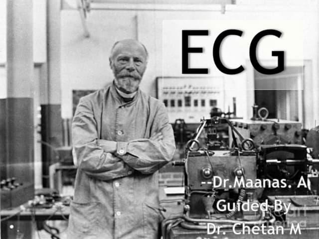 ECG-Get to know the Simplest Understanding of ECG