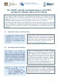 ECI, FISUEL and AIE recommendations on the EPBD guidance for Member States on Fire Safety