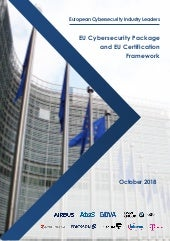 ECIL: EU Cybersecurity Package and EU Certification Framework