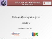 Memory Analyzer (Eclipse Demo Camp)