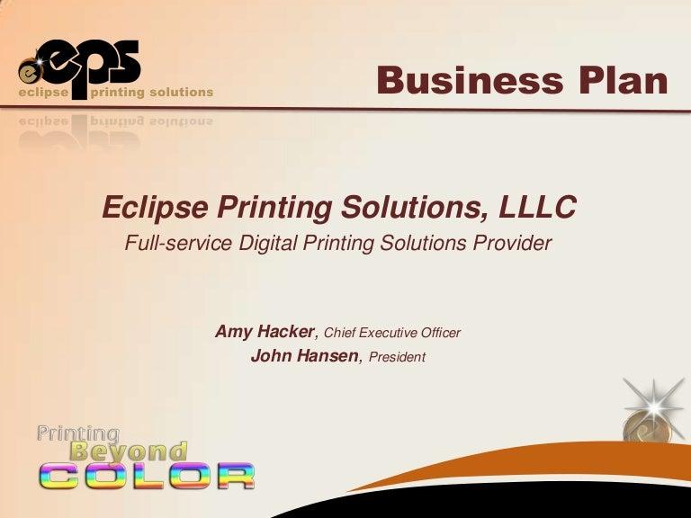 print shop business
