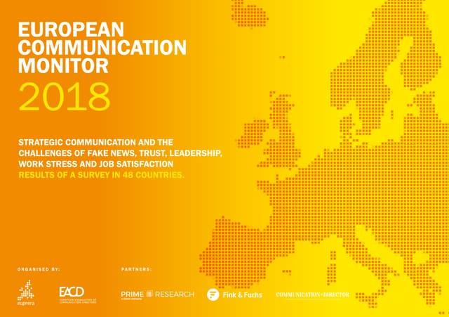 European Communication Monitor 2018
