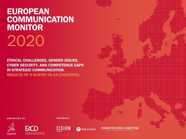 European Communication Monitor 2020
