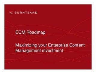 Ecm roadmap v2 0