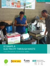Ecoampla: Electricity through waste