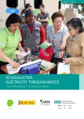 Ecochilectra: Electricity through waste