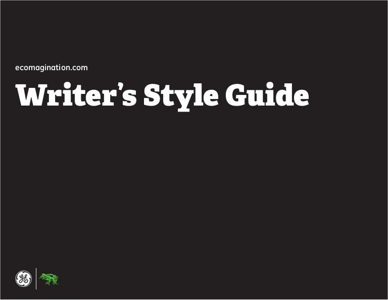 microsoft writing style guide