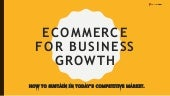 Ecommerce For Business Growth India