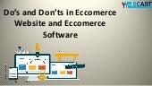 Web Cart - Ecommerce Software, Ecommerce Multistore Shopping Cart