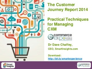 Improving Online Experiences - The Customer Journey Report 2014