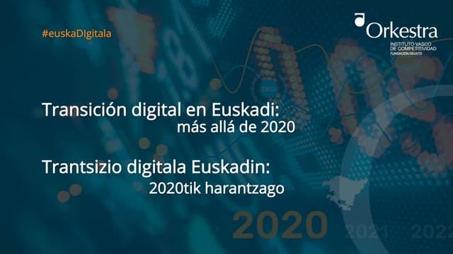 Economia y sociedad digitales en País Vasco