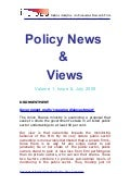 Policy News  &  Views July 2009