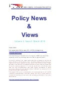 Economic Policy News And Views March 2010