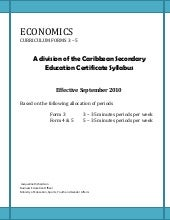 Economic research paper