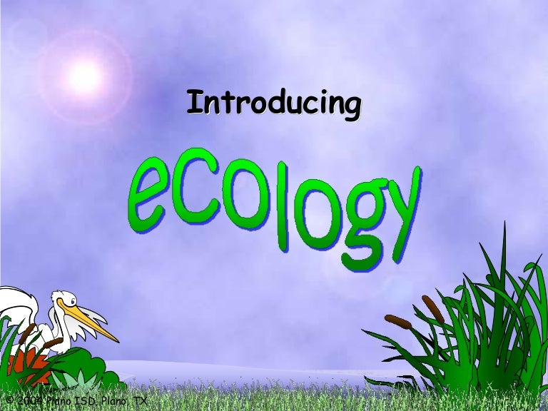 ecosystems, biotic and abiotic factors