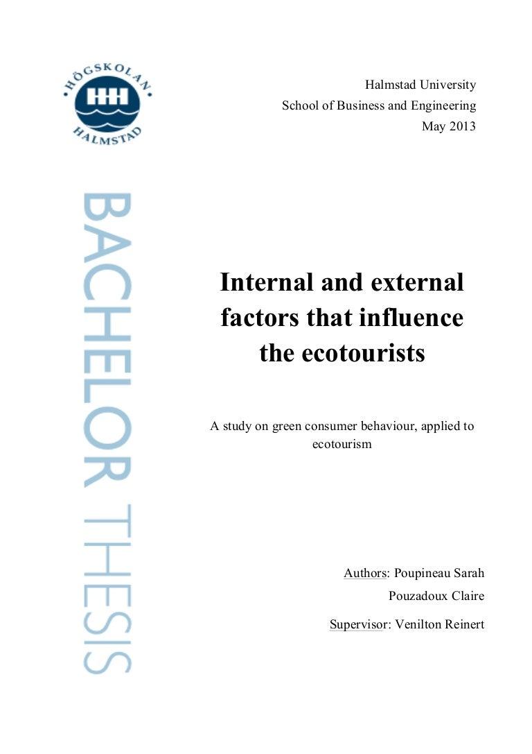 ecotourism thesis