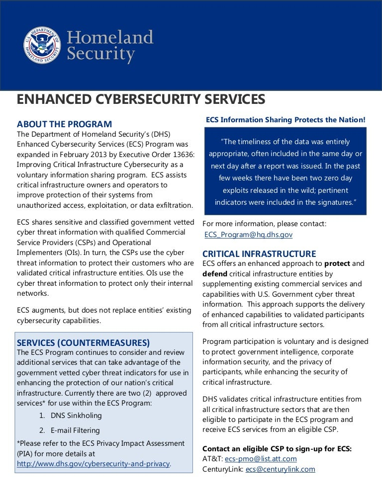 Emergency Services Sector Cybersecurity Initiative