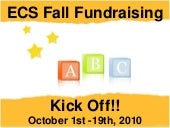 "ECS ""Believe Kids"" Fall Fundraising Kickoff"