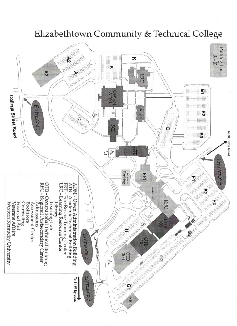 Ectc Campus Map