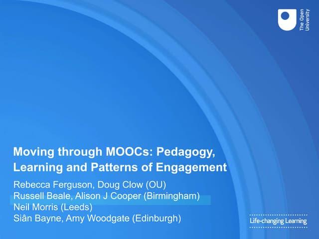 Moving through MOOCs