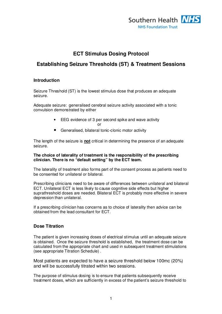 Ect Stimulus Dosing Protocol Adjusting My Wiring Diagram Ectstimulusdosingprotocol 140129075336 Phpapp01 Thumbnail 4cb1390982037