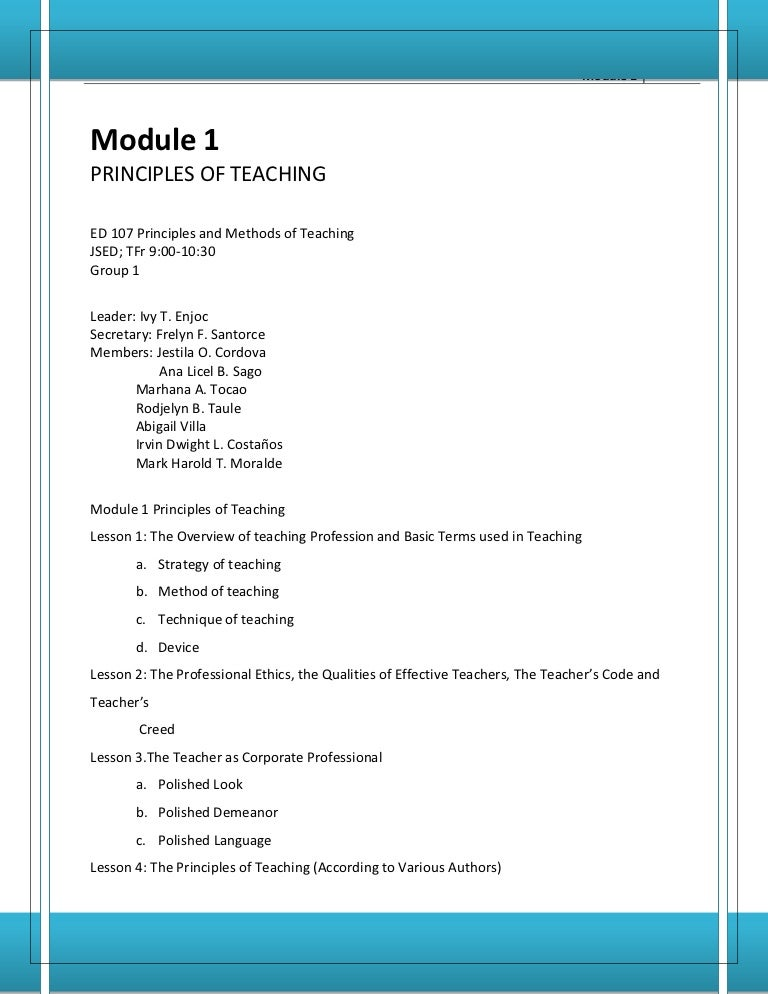 Principles Of Teaching 2 By Brenda Corpuz Pdf 19 - King Cameran