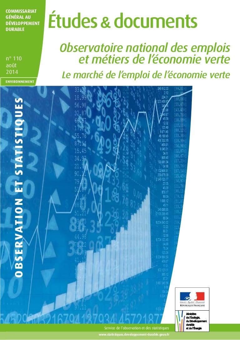 Etude De Marche Artisan Electricien le marché de l'emploi de l'économie verte