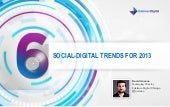 Six Social-Digital Trends for 2013