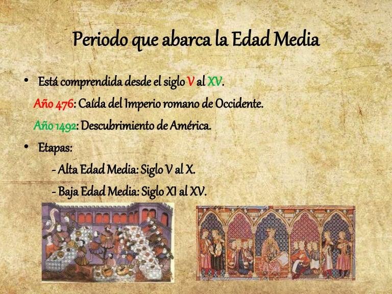 Edad Media Cristianismo